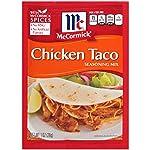 McCormick USA Mix Chicken Taco Seasonings Sliced - 28 gm
