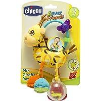 Chicco Gioco Trillino Mrs Giraffa, in Morbido Tessuto Ricco di Attività Manuali, 3-24 Mesi