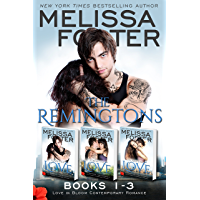 The Remingtons (Book 1-3, Boxed Set): Game of Love, Stroke of Love, Flames of Love (Melissa Foster's Steamy Contemporary…