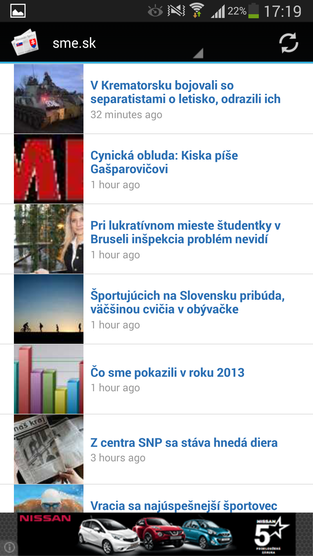 Slovak News Screenshot
