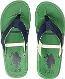 US Polo Association Men's Azzaro Flip Flops Thong Sandals
