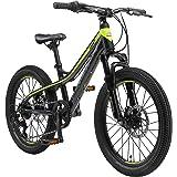 BIKESTAR MTB Mountain Bike Alluminio per Bambini 6-9 Anni   Bicicletta 20 Pollici 7 velocità Shimano, Hardtail, Freni a Disco