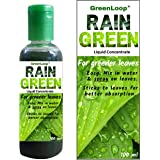 GreenLoop RAIN Green for Lush Green Leaves. Mix in Water & Spray on Leaves. Liquid Concentrate for Home use.