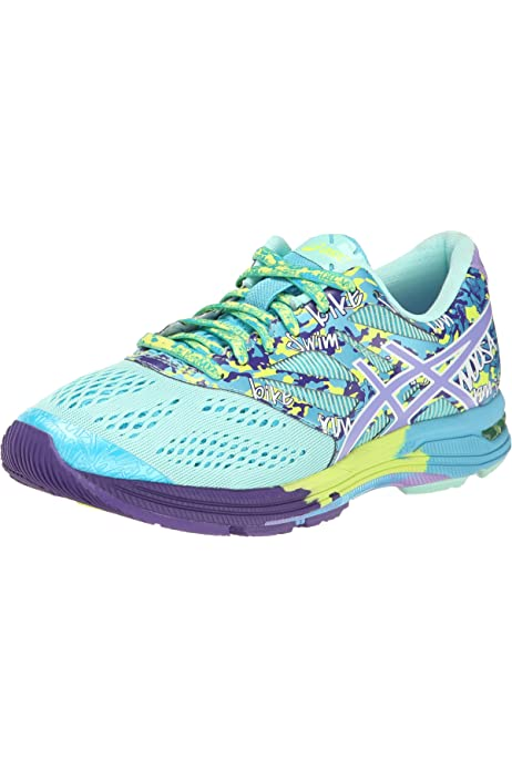 ASICS Gel-Noosa Tri 10 - Zapatillas de running para mujer, color Azul (Mosaic Blue/Flash Yellow/Pink 5307), talla 44: Amazon.es: Zapatos y complementos