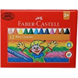 Faber-Castell Wax Crayons - Set of 12