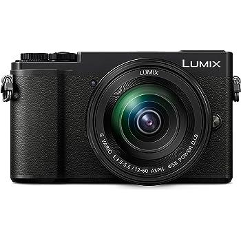 PANASONIC LUMIX GX9 4K Mirrorless ILC Camera Body, 20.3 Megapixel MOS Sensor, In-Body Image Stabilizer (I.B.I.S.), Tilting Live View Finder, with 12-60mm F3.5-5.6 Power O.I.S. Lens, DC-GX9MK (USA BLACK)