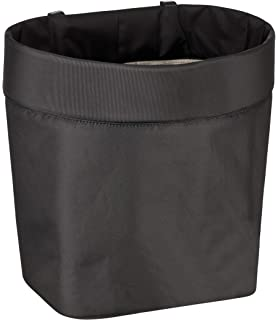Milopon Auto M/ülleimer Abfalleimer mit Deckel Aufbewahrungsbox Tischabfalleimer Tragbar Zuhause B/üro M/ülleimer Abfall Lagerung Beige