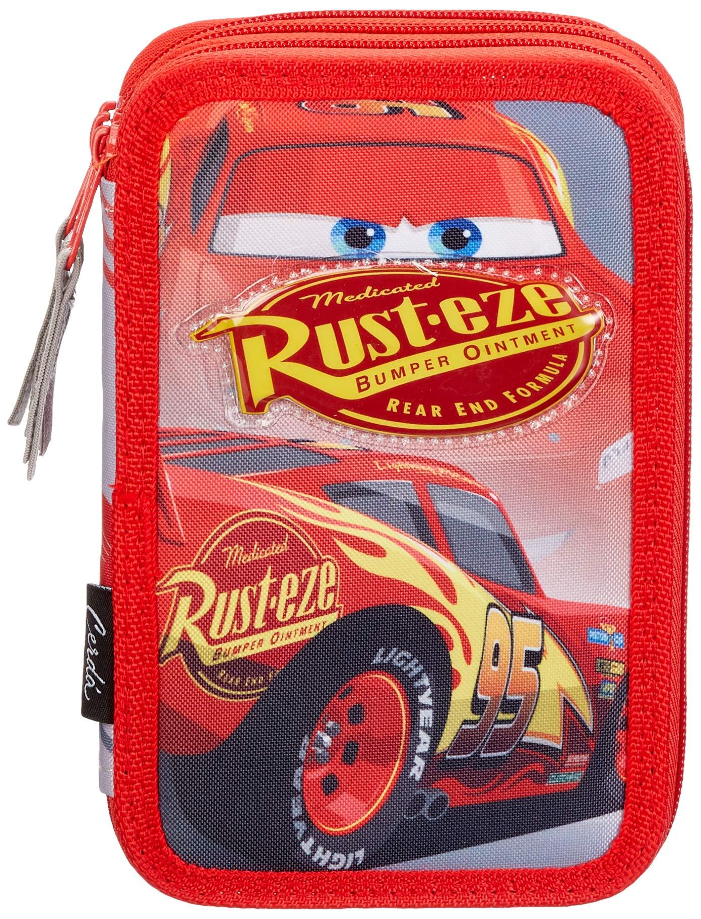 Cars Cars-CD-27-0225 Plumier, Multicolor, 19 cm (Artesanía Cerdá CD-27-0225)