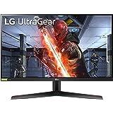 "LG 27GN800 UltraGear Monitor PC Gaming 27"" QuadHD IPS 1ms HDR 10, 2560x1440, G-Sync Compatible e AMD FreeSync Premium 144Hz,"