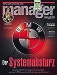 """manager magazin 10/2019 """"Der Systemabsturz"""""""