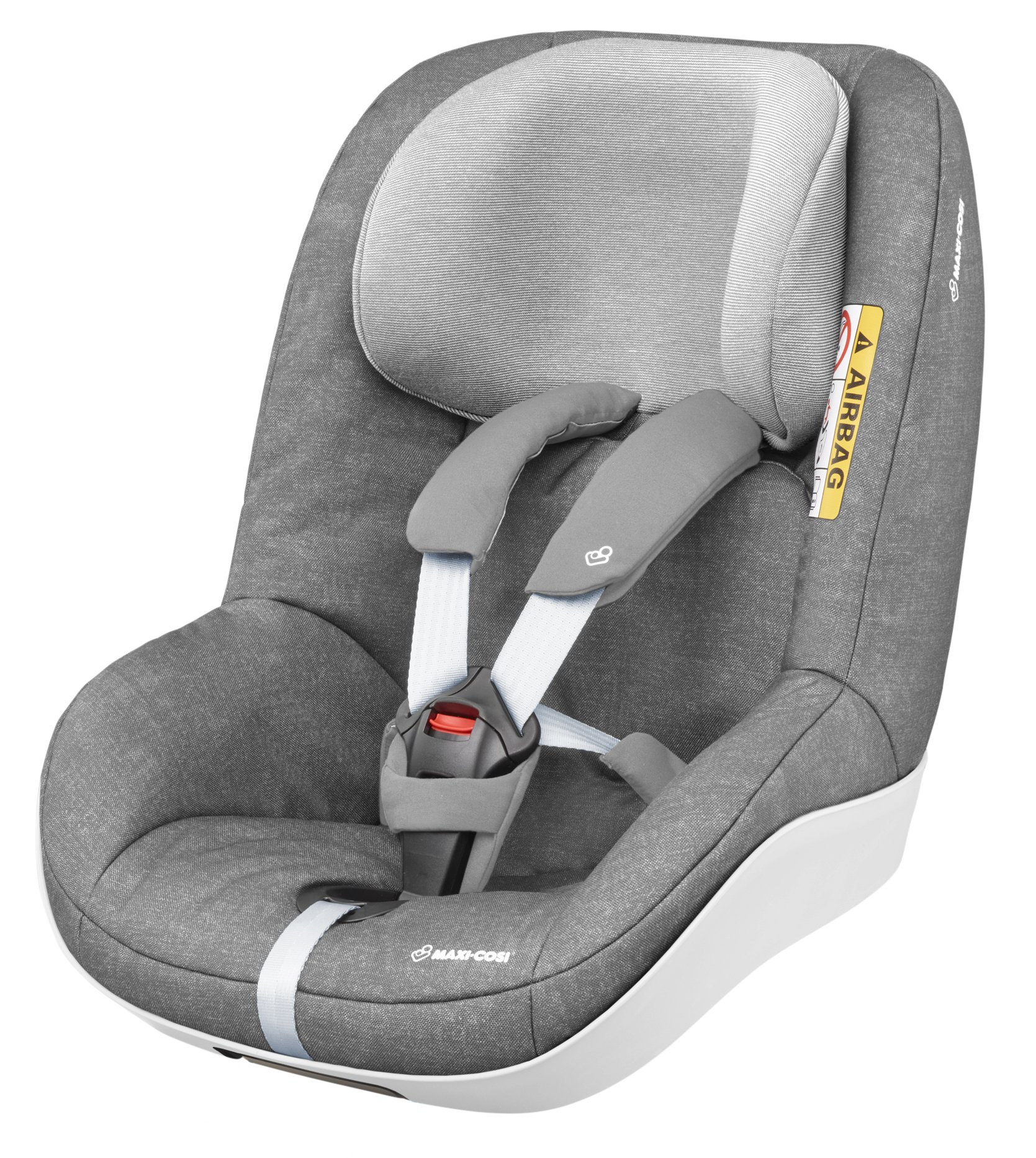 Maxi-Cosi Pearl One i-Size Toddler Car Seat Group 1, Rear-Facing Car Seat, ISOFIX, 67-105 cm, 6 Months-4 Years, Nomad Grey Maxi-Cosi Must be used with the maxi-cosi family fix one i-size base Approved according to the latest european safety standard i-size (r129) Innovative stay open harness to easily get the child in and out in seconds 2