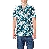Marca Amazon - find. Hawaaian Printed - Camisas Hombre