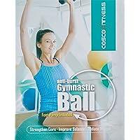 Cosco Anti Burst Gym Ball with Foot Pump