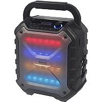 Reflexion PS06BT kompakte PA-Anlage, mobil mit Akku, Lichteffekten und Karaoke-Funktion (Bluetooth, USB, AUX, 160 Watt…