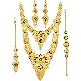 Mansiyaorange Bridal Party One Gram Gold Original Wax Forming Work Premium Rani Haar/Juelry/jwelery/Jualary/Long Neckalce//Br
