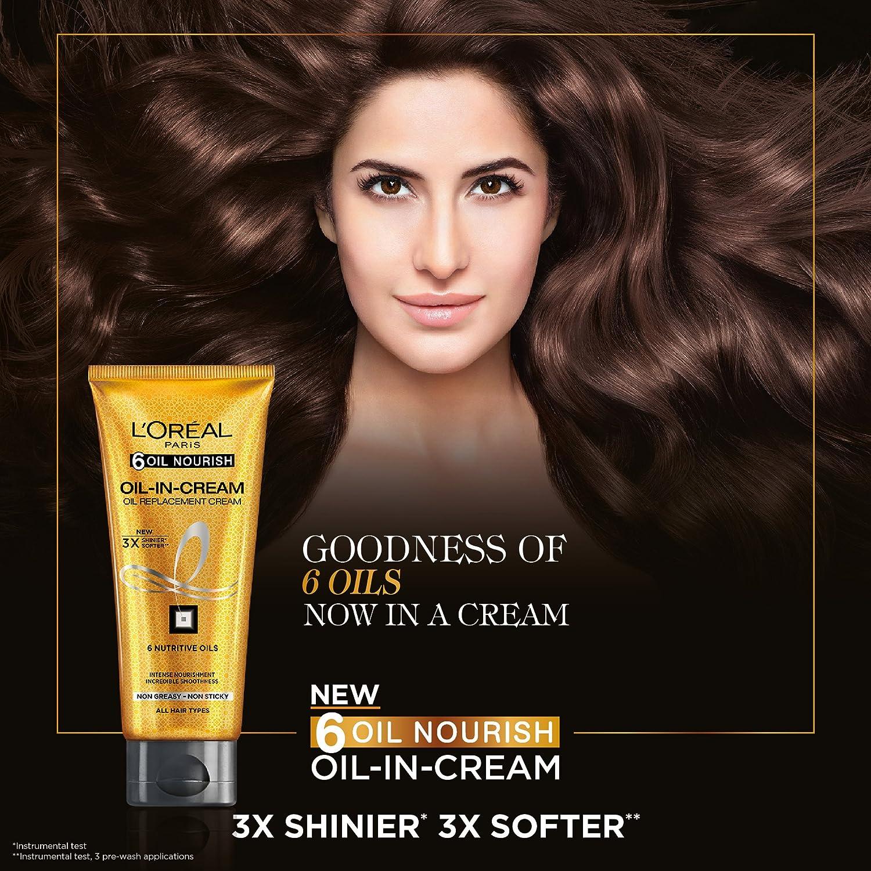 Loreal hair color quiz - Buy L Oreal Paris 6 Oil Nourish Oil In Cream 200ml Online At Low Prices In India Amazon In