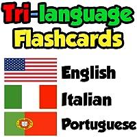 Flashcards - English, Italian, Portuguese