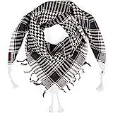 LOVARZI Kefiah Shemagh per uomo donna tutte le età - Versatile e alla moda Sciarpe per l'estate e l'inverno