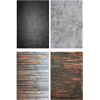 Store2508® (Pack of 2) Flat Lay Flatlay Tabletop Photography Backdrop Background for Food, Jewelry, Cosmetics, Small…