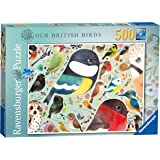 Ravensburger 14697 Our British Birds 500 piece Jigsaw Puzzle for Adults & for Kids Age 10 and Up, Multi-Colour