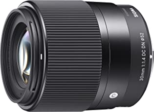 Sigma 30mm F1,4 DC DN Contemporary Objektiv (52mm Filtergewinde) für Sony-E Objektivbajonett