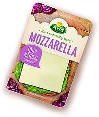Arla Queso Mozzarella Lonchas, 100% Natural, 150g (Refrigerado)