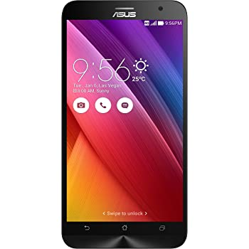 Asus ZenFone 2 Smartphone 5.5 pollici HD, RAM 2 GB, 16 GB, 4G/LTE, Nero