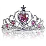 Katara 1682 - Diadema Corona con Pietre Tiara Principessa - Diversi modelli e colori disponibili
