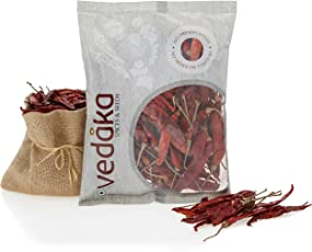 Amazon Brand - Vedaka Red Chilli (Lal Mirch), 100g