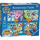 Ravensburger - 3029 - Pat Patrouille - Puissants - 4 dans Une boîte (12, 16, 20, 24 pièces)