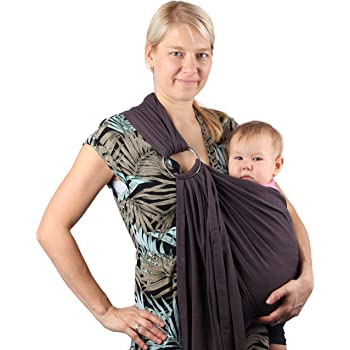 d6ee215c0bb Neotech Care Baby Sling Carrier - Cotton - with Rings Adjustment - for  Infant