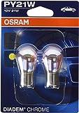 Osram Diadem Chrome Blinker PY21W, 7507DC-02B, 12V, Doppelblister