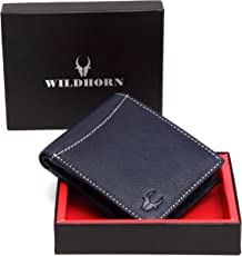 WildHorn Blue Men's Wallet (WH1254)