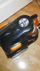 Rowenta RO3753 Compact Power Cyclonic - Aspirador sin Bolsa, Sistema Ciclónico sin Bolsa, Depósito 1.5 L, Cepillo Parquet y Boquilla 2 en 1 para Ranuras, 79 dB, Fácil de Limpiar: Amazon.es: Hogar