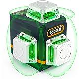 CIGMAN CM701 Nivel Láser, Nivel Láser Autonivelante 360 Grados, 3x360° Láseres de Línea, 3D Nivelador Láser, 30M Alcance, Con
