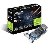 ASUS GT710-SL-2GD5 GeForce GT 710 2GB GDDR5 - Tarjeta gráfica (GeForce GT 710, 2 GB, GDDR5, 64 bit, 2560 x 1600 Pixeles, PCI
