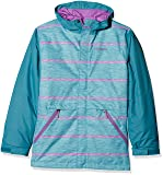 Columbia Mädchen Slope Star Jacke, Pacific Rim Spacedye Stripe, S