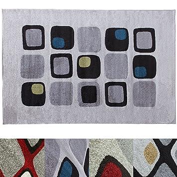 ... Trend Muster | In 2 Größen Und Vielen Farben Für Wohnzimmer, Esszimmer,  Schlafzimmer Etc. | Creme / Grün / Blau 160x220 Cm: Amazon.de: Küche U0026  Haushalt