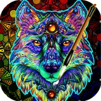 Art Coloring Book for Adults (ColorWolf)