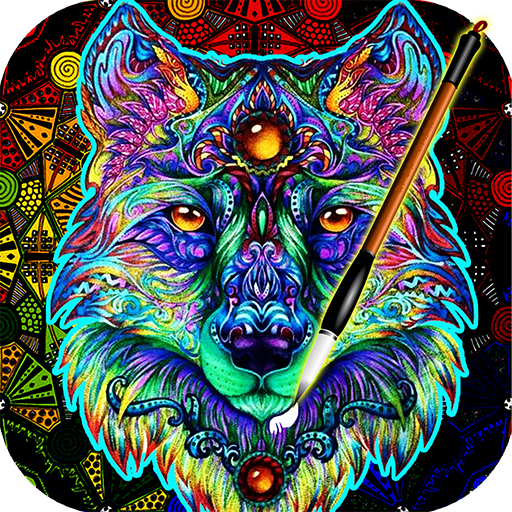 ColorWolf - Coloring Book for Adults | Animals | Mandalas ...