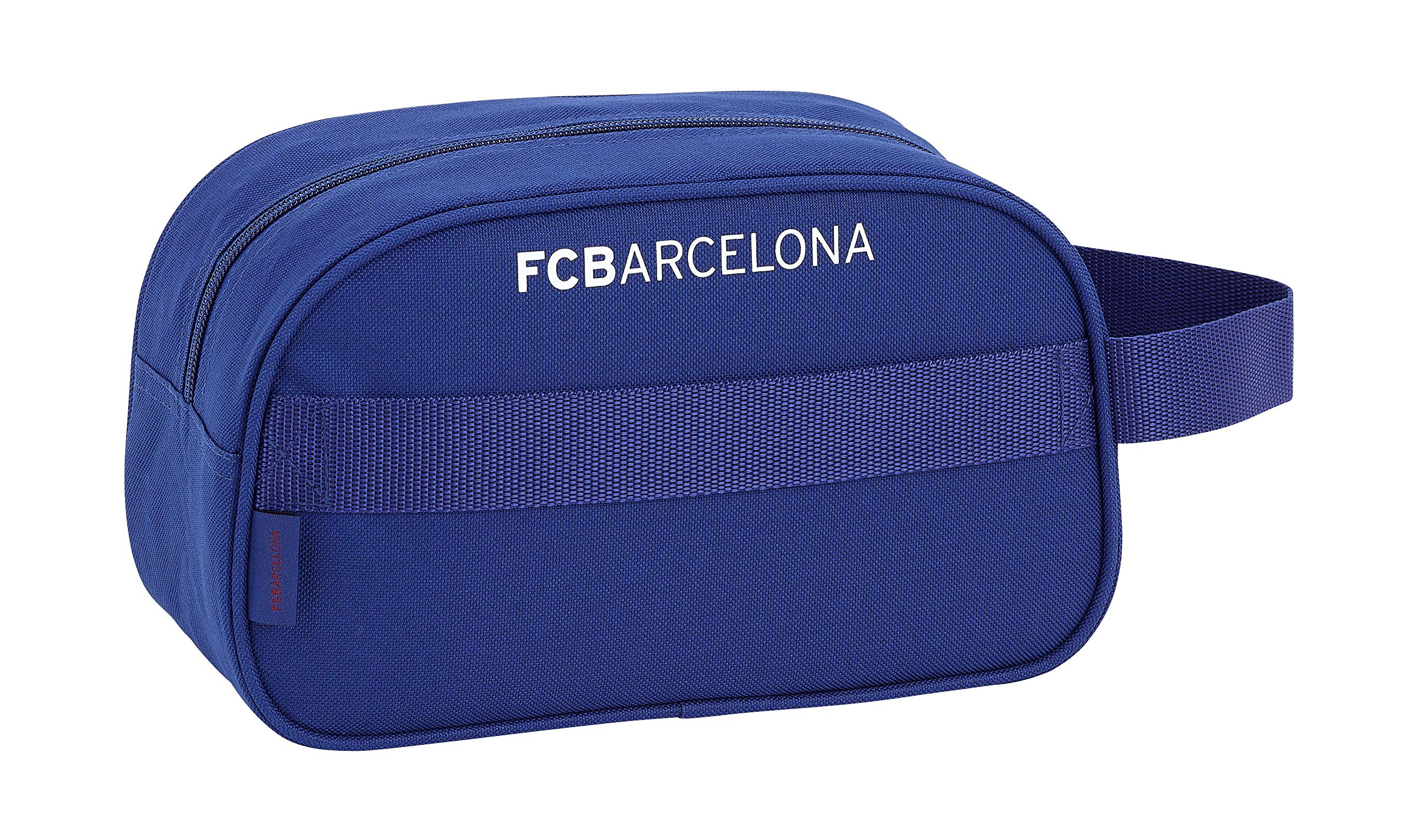 FCB FC Barcelona Neceser, Bolsa de Aseo Adaptable a Carro.