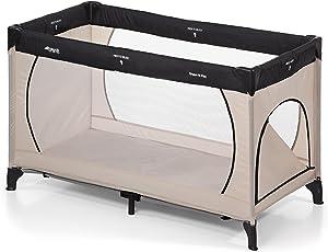 Hauck Kinderreisebett Dream N Play Plus, inkl. Hauck Reisebettmatratze, tragbar und klappbar, 120 x 60 cm