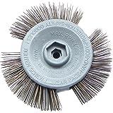TIVOLY XT202520140 Brosse Circulaire TECHNIC /étag/ée Acier ondul/é /Ø 60-Cyl 8 mm /Ø60mm