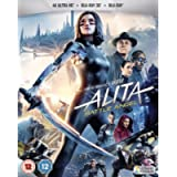 Alita: Battle Angel [ 3D, 4K UHD and Blu-Ray ] [2019]
