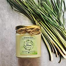Eliora Massage Candle - Lemongrass Scented Candle Made With Blended Natural Wax And Fine Fragrance Oils For A Healthy And Clean Burn