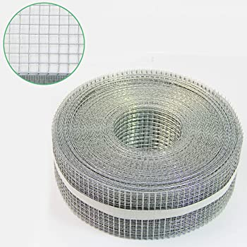 0.61mm 6.35mm x 6.35mm Airbrick Mouse Control Mesh - A1 Sheet Aperture 1//4 Galvanised Steel 1//4 x 1//4 23 SWG