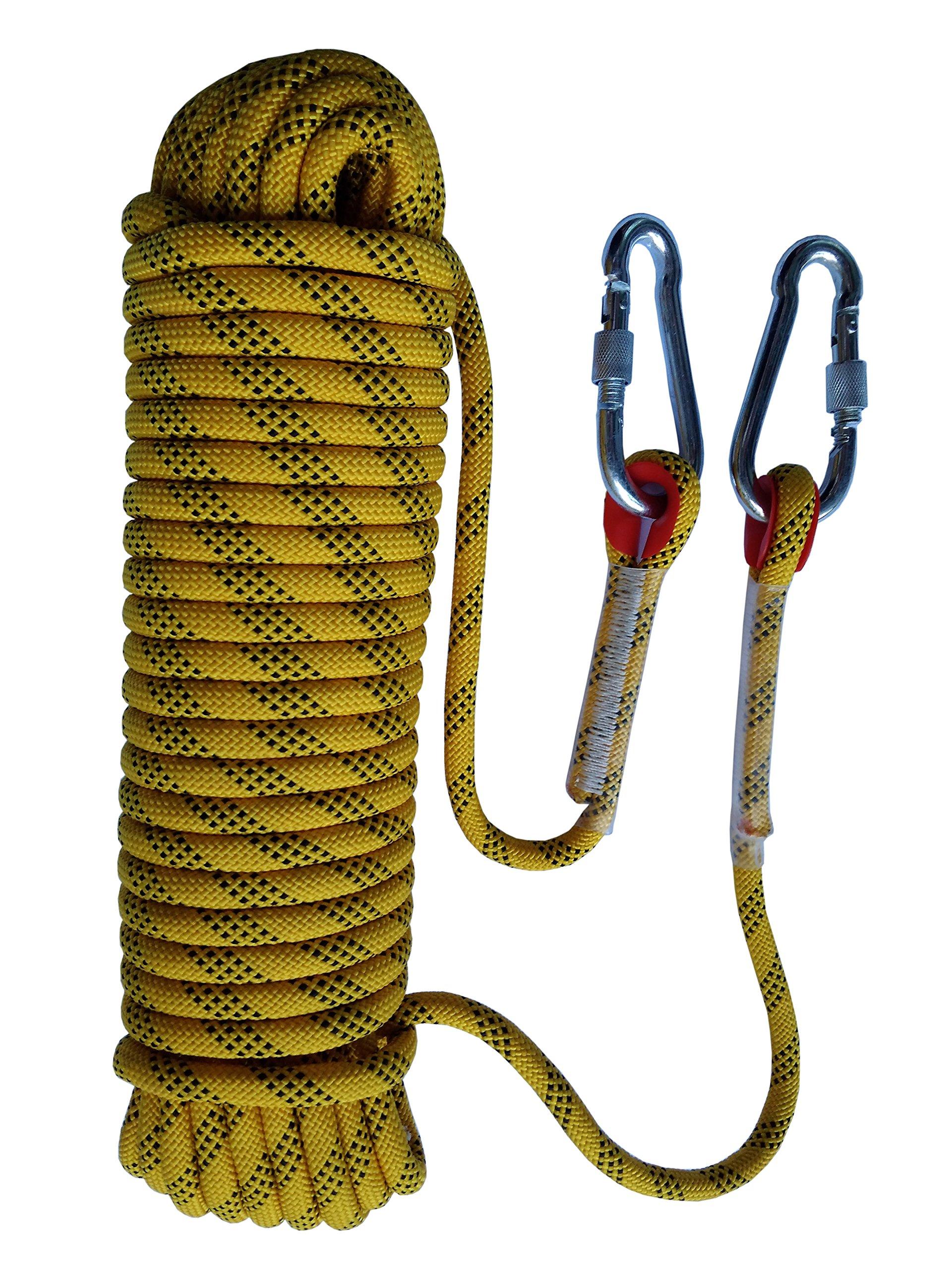 Cuerda de seguridad Tonyko para escalar al aire libre y en interiore, para paracaídas e incendios