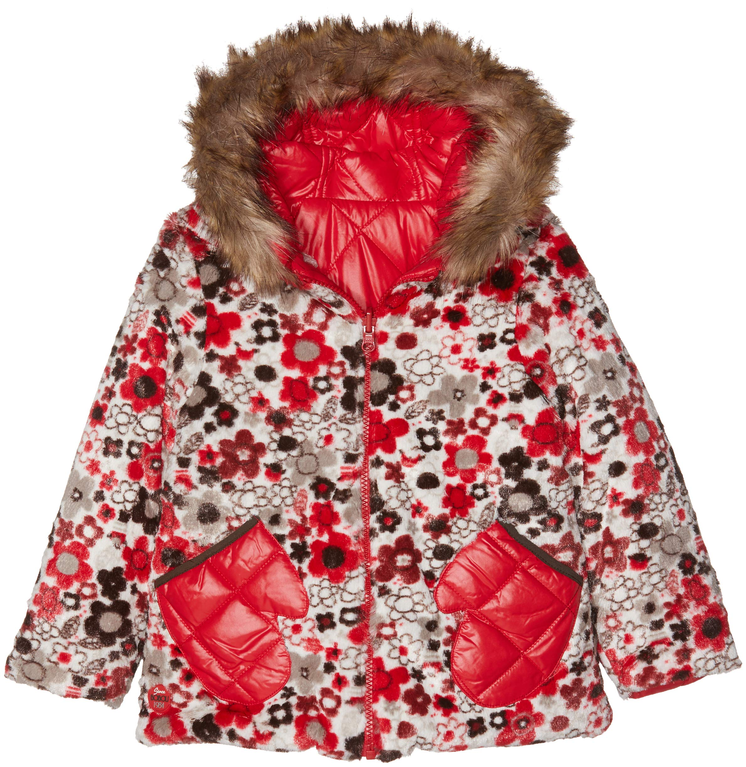 boboli Reversible Technical Fabric Parka For Baby Girl Abrigo para Bebés 1