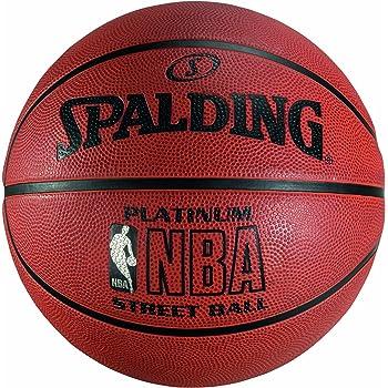 Spalding NBA Platinum Streetball Balón de baloncesto, Unisex adulto, Ladrillo, 7