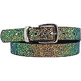 EANAGO Cintura Cristallo per bambine (scuola dell'infanzia e scuola elementare, 5-10 anni, fianchi 57-72 cm),